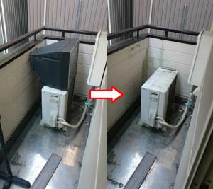 高知市若松町でテレビ、布団等回収の写真