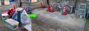 高知市でストーブ、おもちゃ、ソファ等の回収の写真1