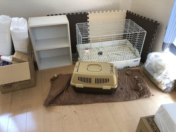 きれいに掃除をしなくても問題なし!ペット用品を回収いたしました。