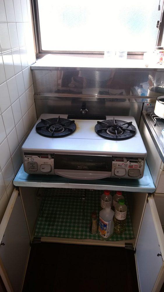 高知県香南市にて不用品回収(洗濯機、ガスコンロ、食器棚)のご依頼 お客様の声