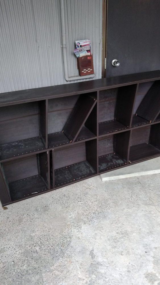 土佐市にて不用品回収(スタンドミラー、本棚、スチール棚)のご依頼 お客様の声