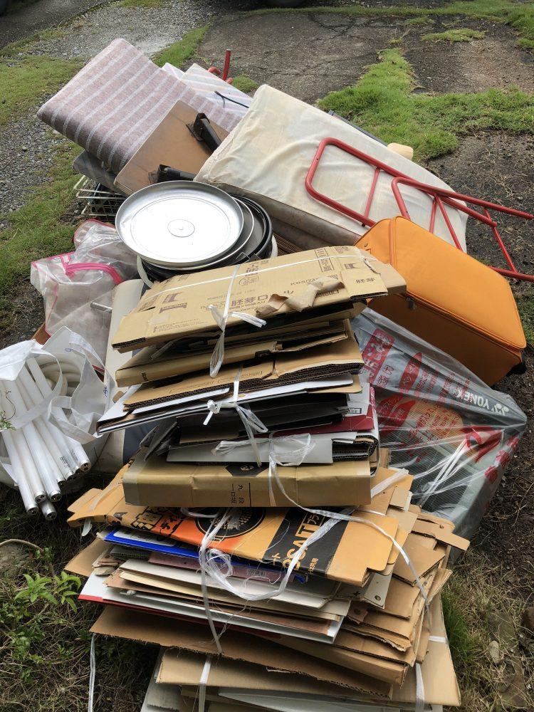 香美市にて不用品回収(2段ベッド枠のみ、ウレタンマットレス、座椅子)のご依頼 お客様の声