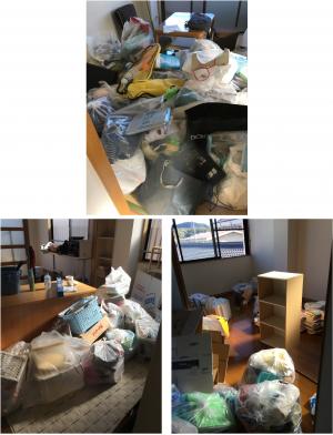 中土佐町でお引っ越しに伴う不用品(冷蔵庫、洗濯機、こたつなど)の回収のご依頼 お客様の声