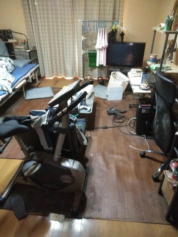 【南国市下野田】アパート1室分のごみの回収☆大量のごみで埋め尽くされていたお部屋がきれいに片付き、お喜びいただけました!