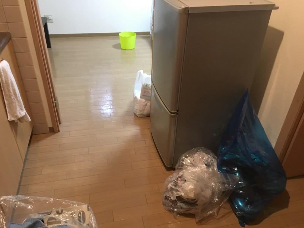 【高知市】冷蔵庫など軽トラック一台程度の不用品回収☆スタッフの迅速な回収にとても喜んでいただきました!