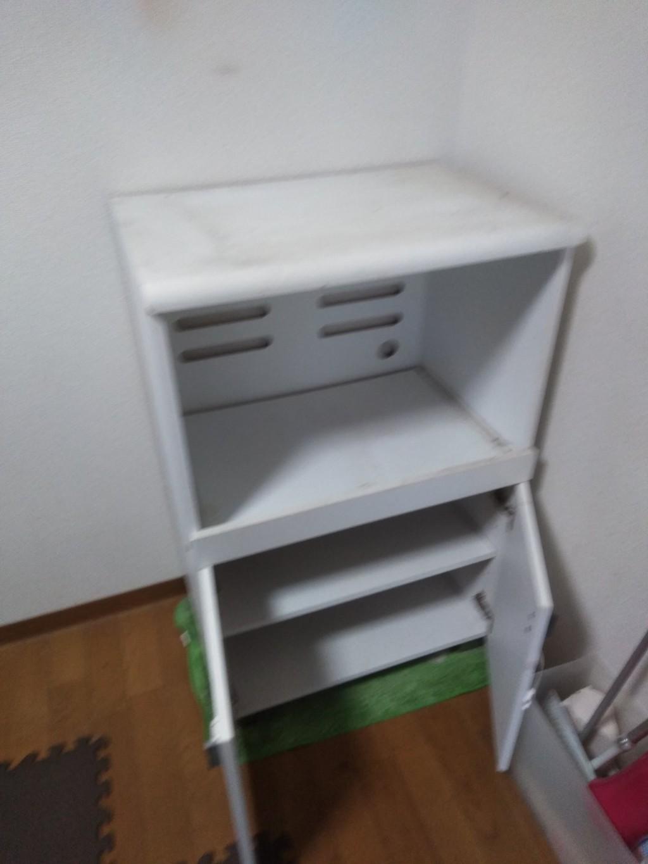 【高知市塩田町】食器棚、ベッドの回収☆初めての不用品回収で不安だったが、しっかりした対応で安心していただけました!