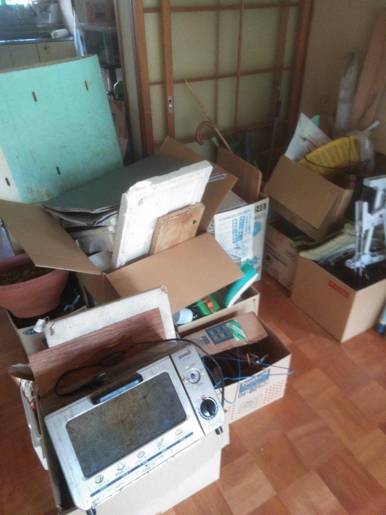 【中野区】遺品整理で大量の出張不用品回収・処分ご依頼 お客様の声