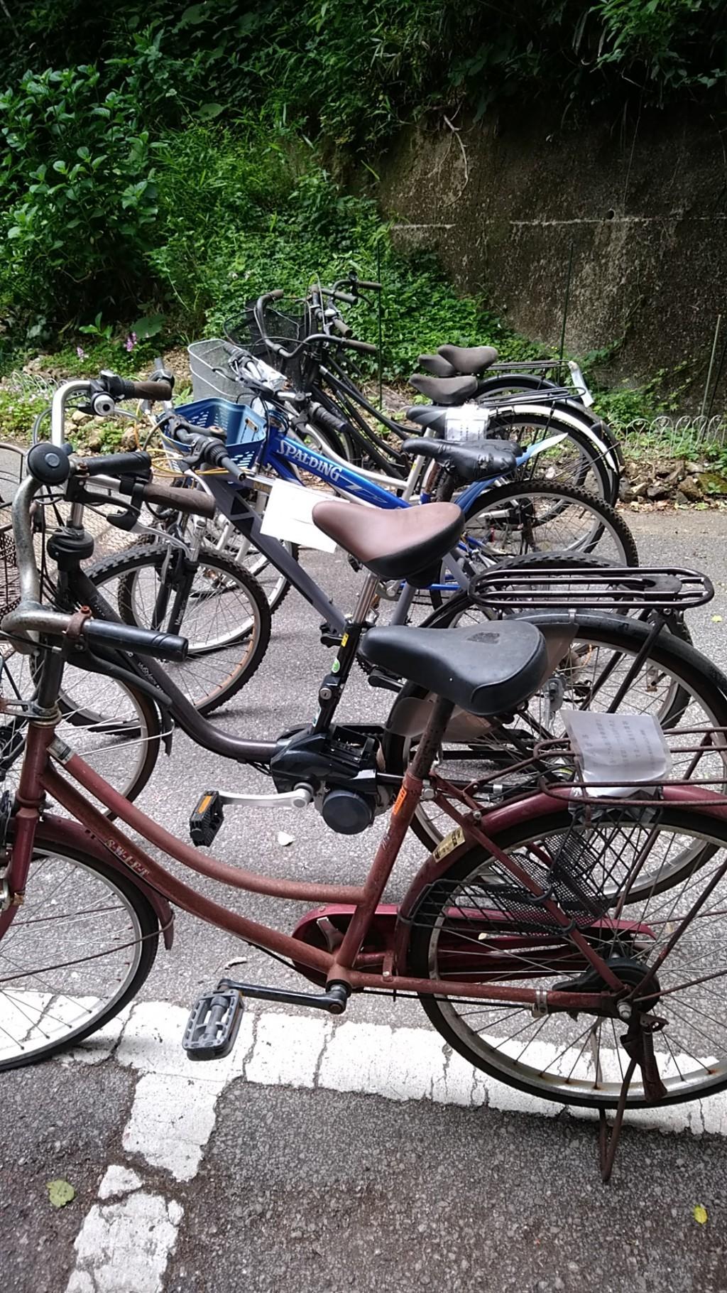 【馬路村】自転車の出張不用品回収・処分ご依頼