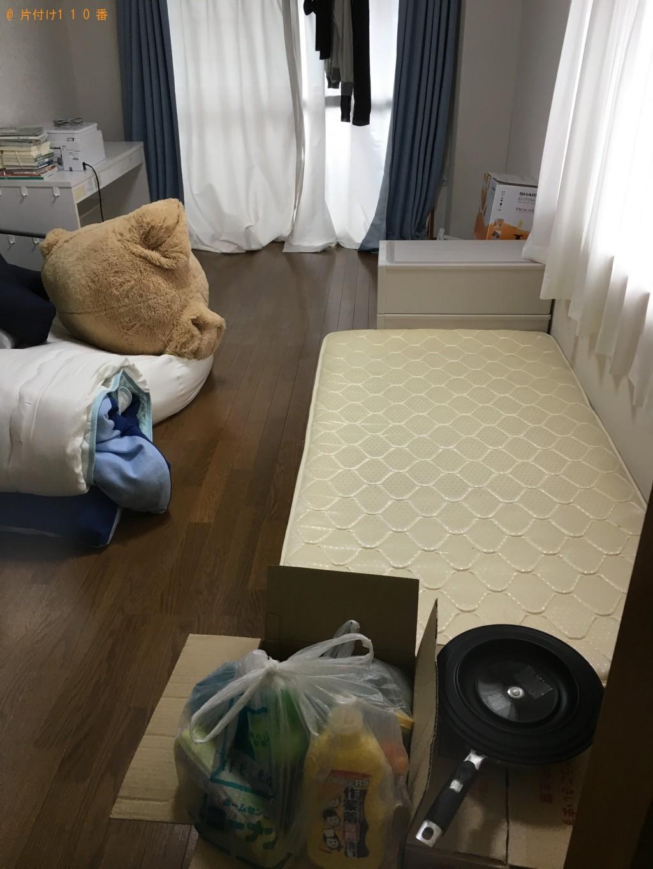 【本山町】リサイクル家電とベッドマットレスの処分 お客様の声