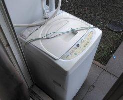 【高知市比島町】洗濯機一点の処分 お客様の声