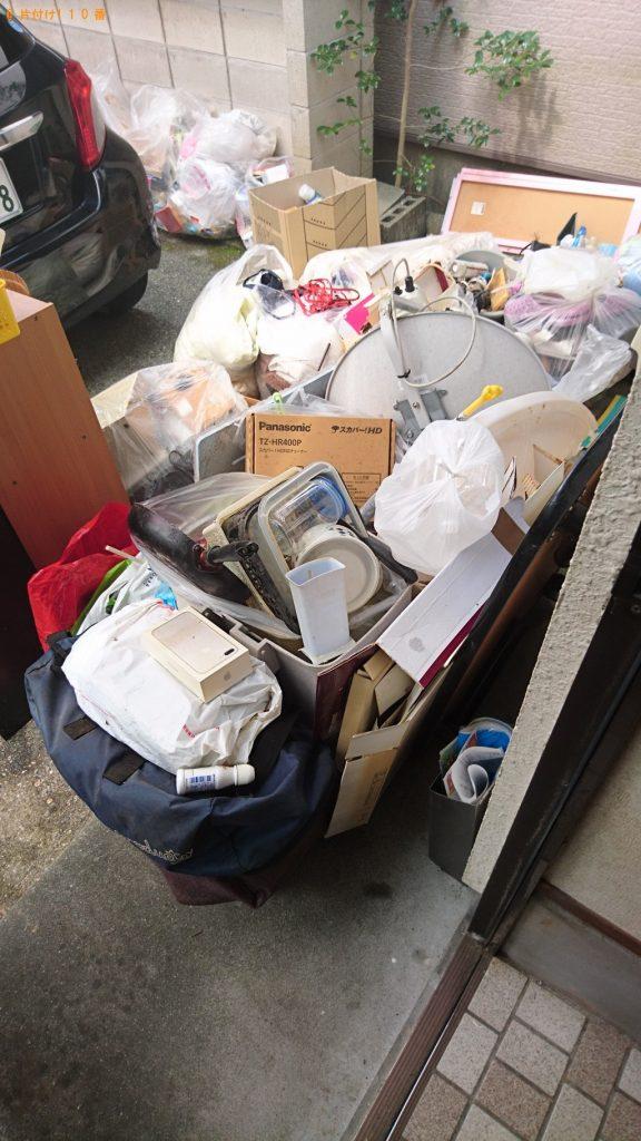 【品川区】遺品整理に伴い整理タンス、カラーボックス、衣類等の回収・処分 お客様の声