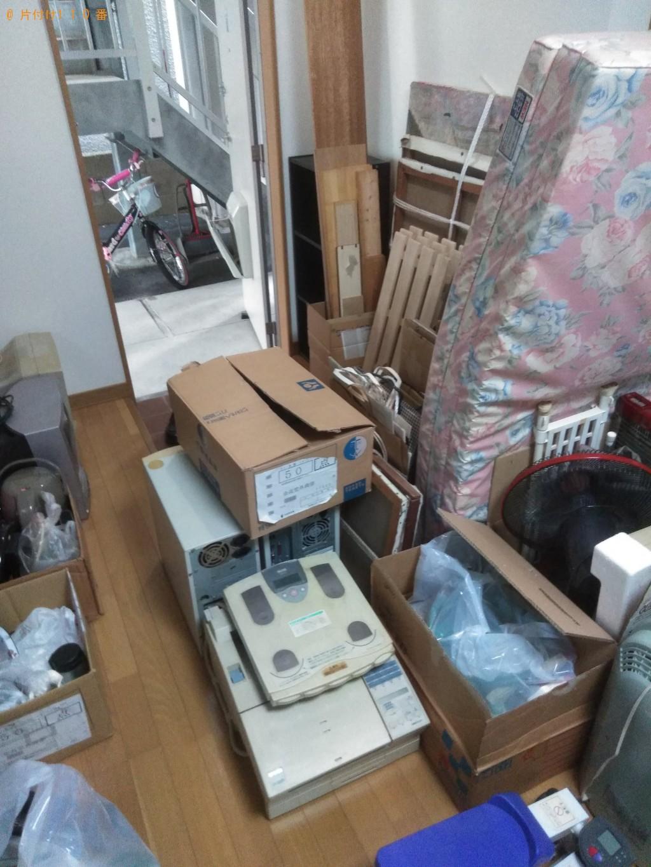 【北川村】冷蔵庫、PCモニターセット、扇風機等の回収・処分ご依頼