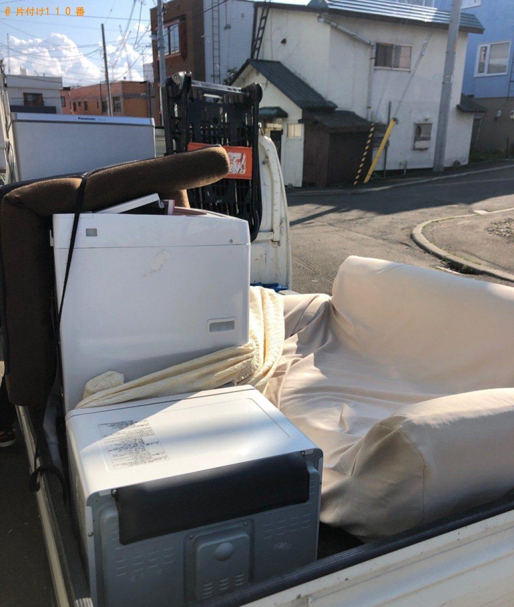 【葛飾区】遺品整理に伴い、洗濯機、ソファー、小型家電等の回収・処分ご依頼