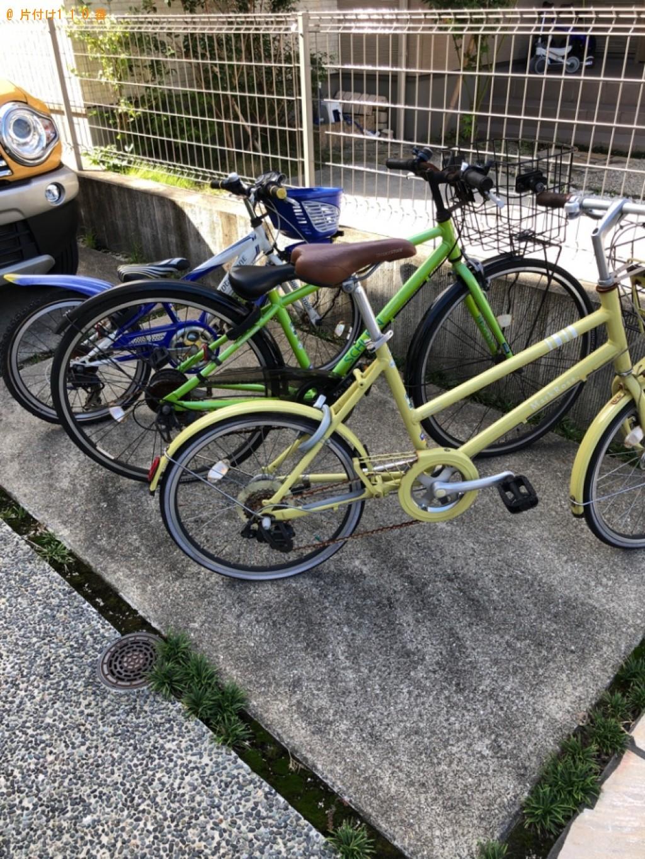 【高知市】自転車の回収・処分ご依頼 お客様の声
