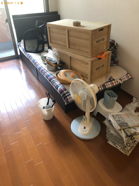 【高知市】シングルベッド、ベッドマットレス、椅子、布団等の回収