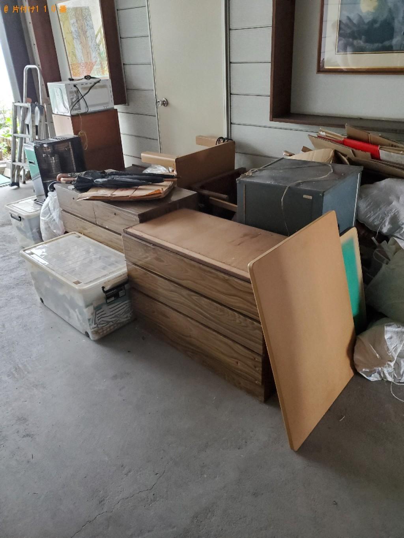 【高知市】冷蔵庫、こたつ、ガラステーブル、布団、一般ごみ等の回収