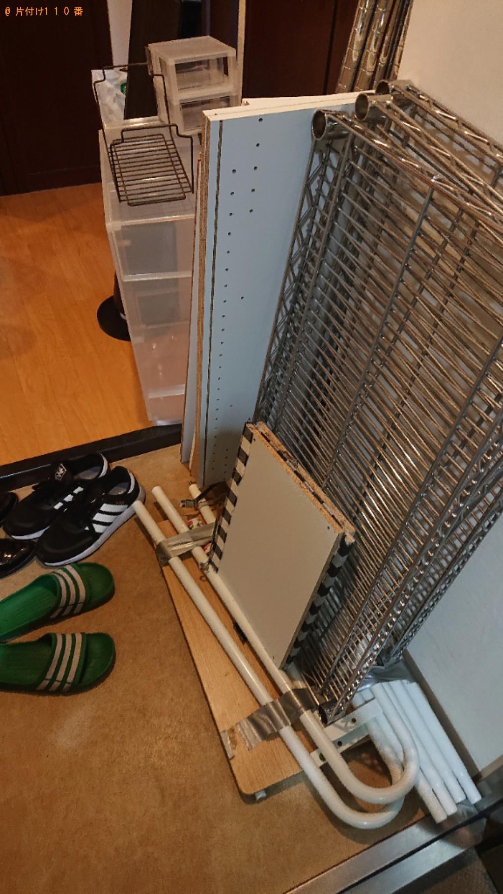 【板橋区】カーペット、カラーボックス、布団、家具等の回収・処分