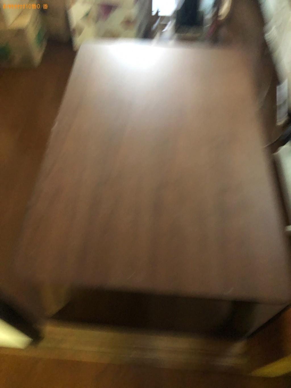 【高知市】こたつ、飾り棚、三人掛けソファーの回収・処分ご依頼